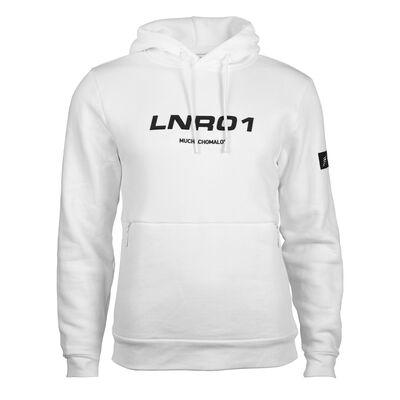 Heren Hoodie LNR01 wit