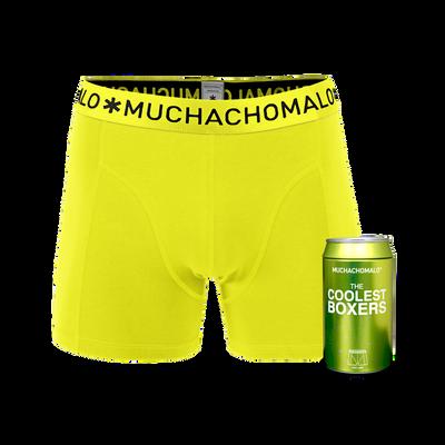 Heren 1-pack boxershorts cans effen