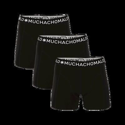 Herren 3-Pack Boxershorts Solid