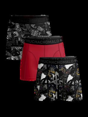 Men 3-pack boxer shorts Punk