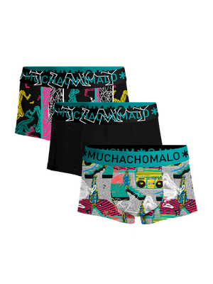 Heren 3-pack trunks Boom Bap