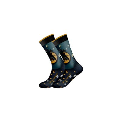 Men socks Samurai