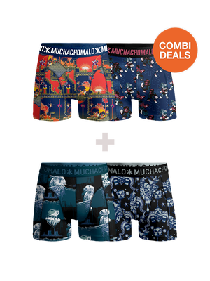 Boys 2-pack + 2-pack boxer shorts Suber 16bit + Climate Change