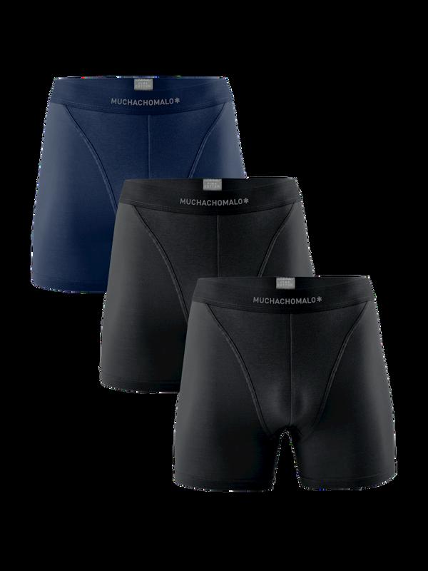 Men 3-Pack Short Solid/Solid/Solid