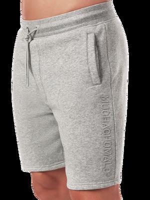 Heren sweatshort grijs