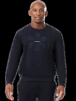 Men sweater blue