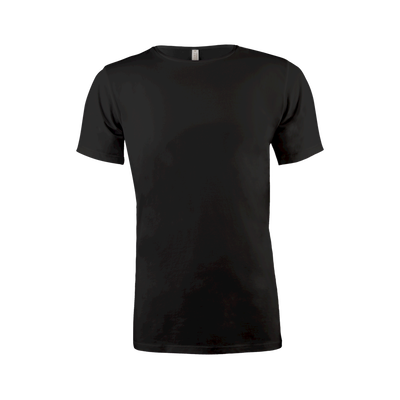 Heren 1-pack t-shirt effen