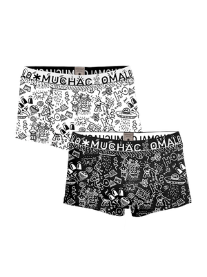 Men 2-pack trunks Iconic Art