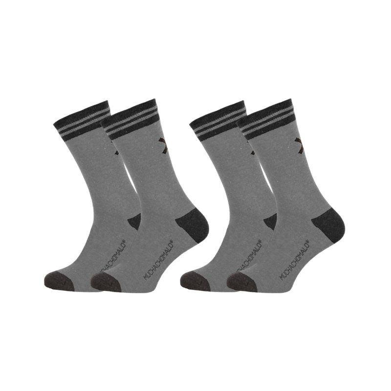 2-PACK SOLID SOCKS LONG 1