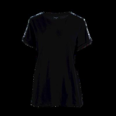 Dames 1-pack t-shirt effen