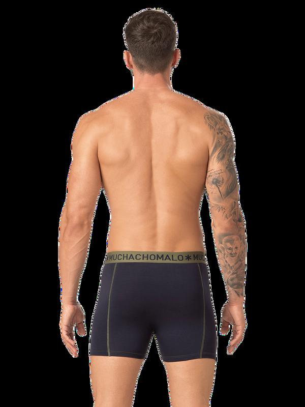 Men 2-pack boxer solid/solid 8