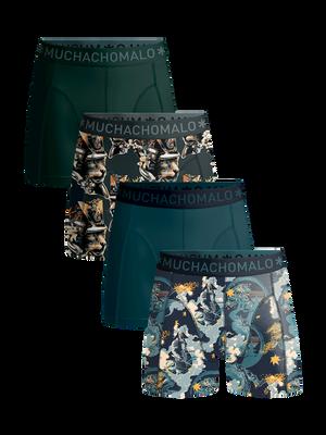 Men 4-pack boxer shorts Samurai