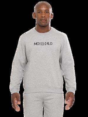 Men sweater grey