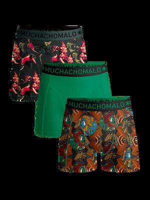 Heren 3-pack boxershorts Rastafarian