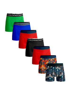 Heren 7-pack boxershorts Jaguar + solid