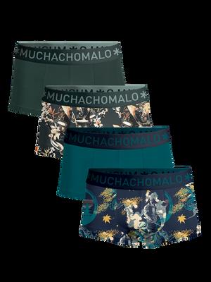 Men 4-pack trunks Samurai
