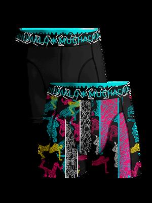 Boys 2-pack boxer shorts Boom Bap