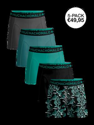 Men 5-pack boxer shorts Tropic