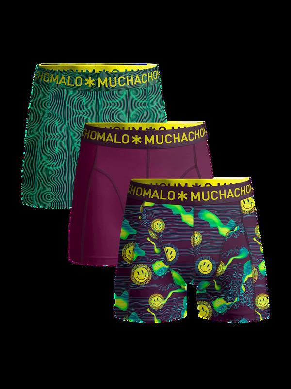 Men 3-pack shorts Acid House 1