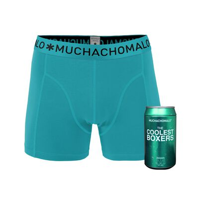 Heren Cans 1-pack Boxershort Aqua
