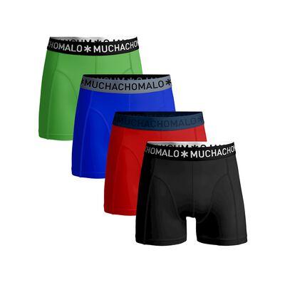 Jongens 4-pack boxershort effen
