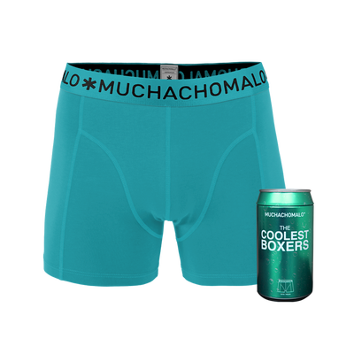 Men 1-pack boxer shorts cans solid