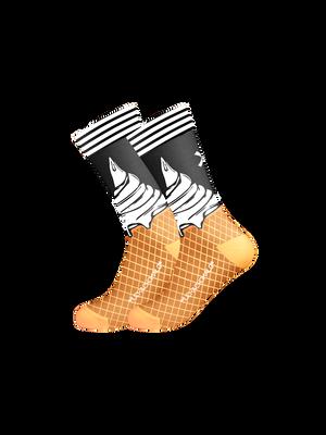 Heren 1-pack sokken Ice Cream