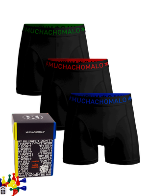 Heren 3-pack boxershorts the Game