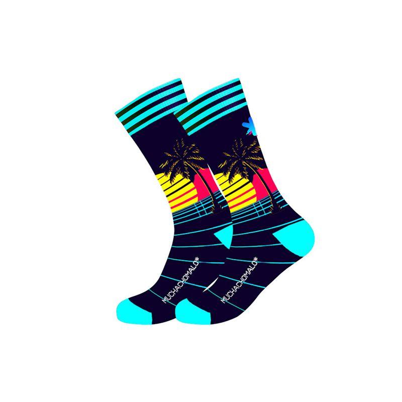 Men 1-pack socks Retrowave