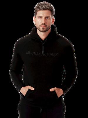 Heren hoodie zwart