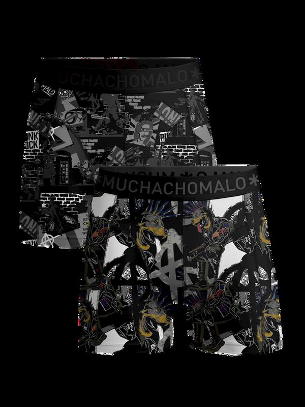 Men 2-pack shorts Punk 1