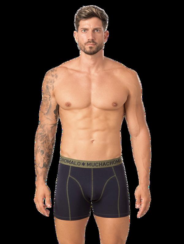 Men 2-pack boxer solid/solid 6