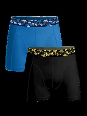 Jongens 2-pack boxershorts effen