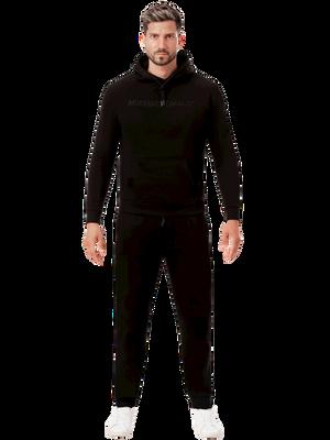 Men hoodie black 2