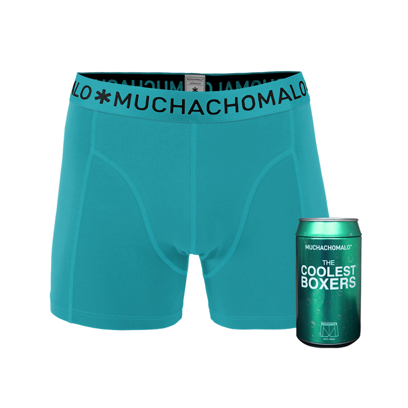 Men 1-pack short aqua 1