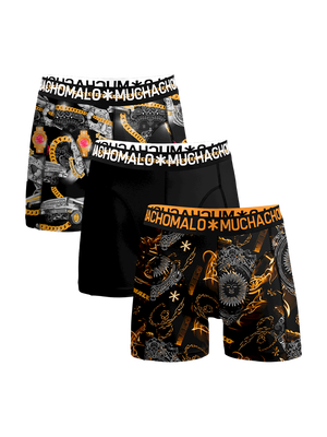 Heren 3-pack Boxershorts Gangsta Rap