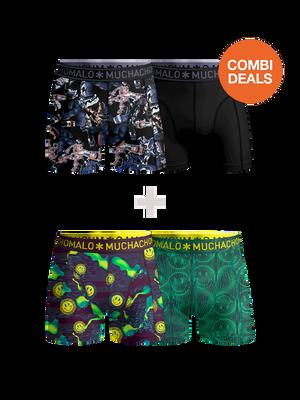Men 2-pack + 2-pack boxer shorts Gadgets + Acid House