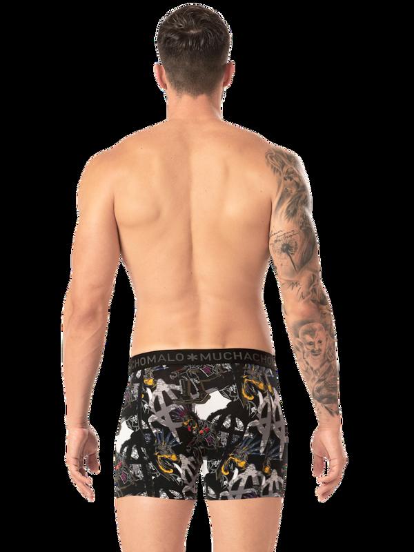 Men 4-pack shorts Punk 9