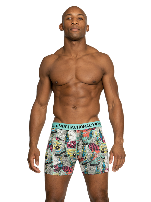 Men 3-pack shorts Boom Bap 2