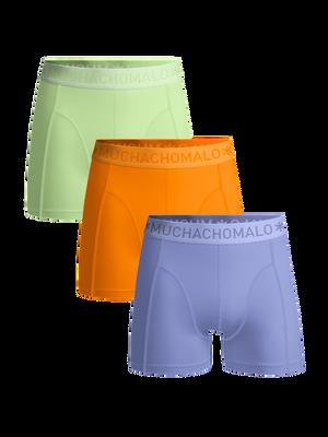 Men 3-pack boxer shorts solid