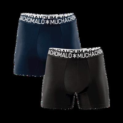 Herren 2-Pack Boxershorts Light Cotton Solid