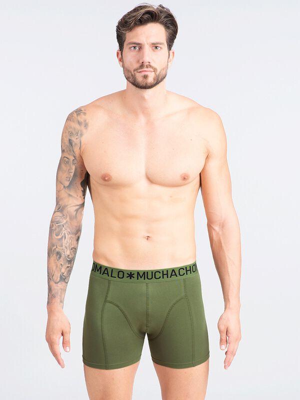 Men 5-pack light cotton solid