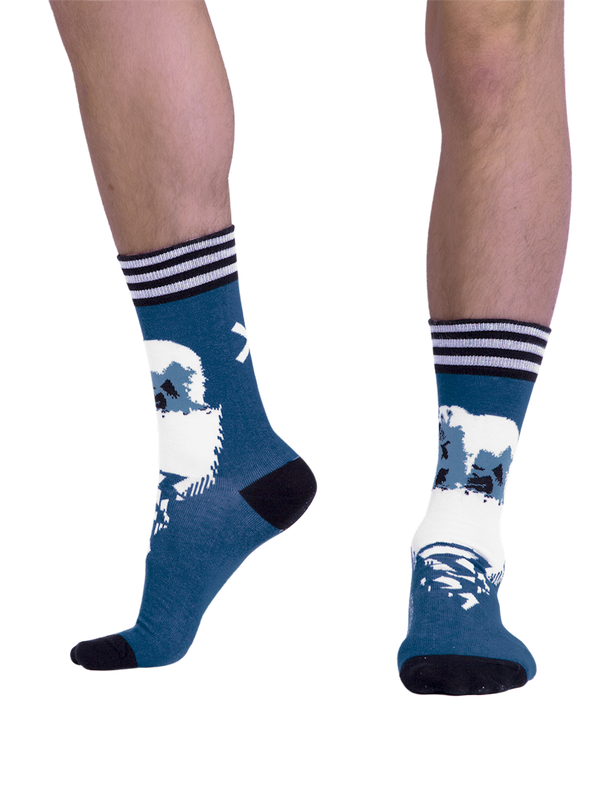 Men 1-pack socks Pattern CLMTC 2