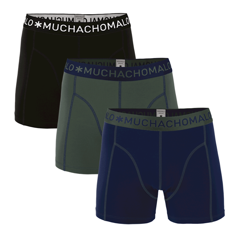3-PACK BOYS SHORT SOLID/SOLID/SOLID