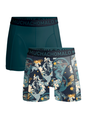 Heren 2-pack boxershorts Samurai
