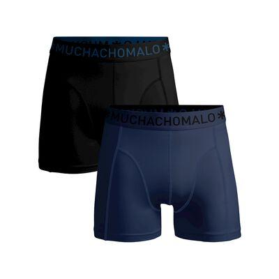 Jongens 2-pack boxershort effen