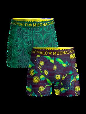 Men 2-pack boxer shorts Acid House
