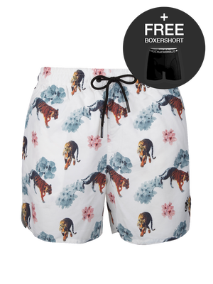 Boys 1-pack swimshorts Tiger