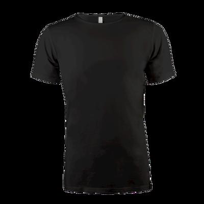 Heren Bamboo T-Shirt Round Neck zwart