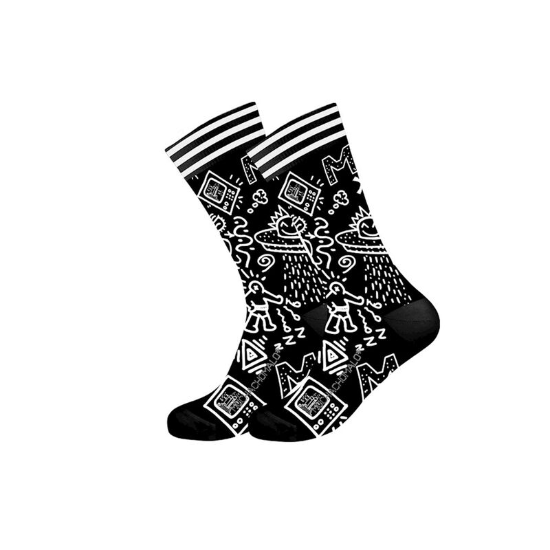 Men 1-pack socks Iconic art
